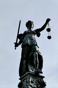 justitia, justice, case law