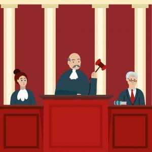 court, judge, gavel